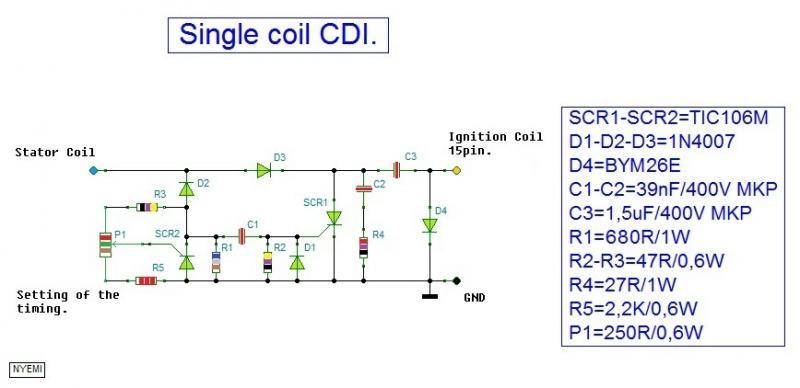 Нажмите на изображение для увеличения Название: Single coil CDI..jpg Просмотров: 349 Размер:35.8 Кб ID:141467