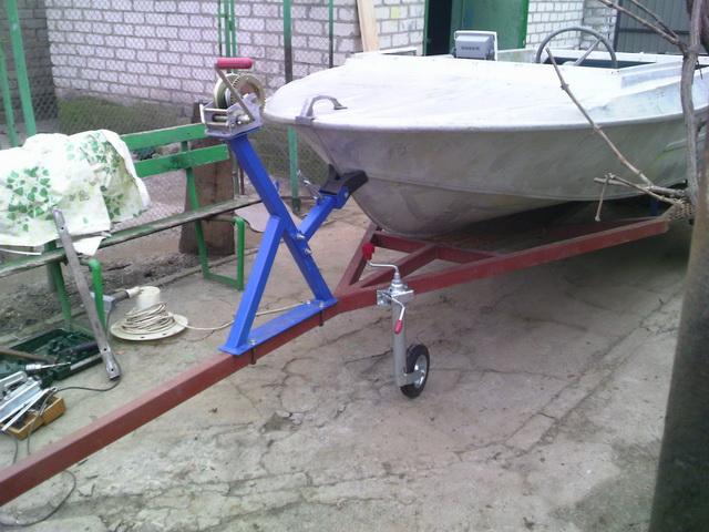 Как сделать лебедку для лодки 62